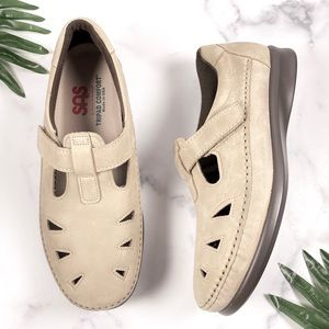 SAS 9.5W Roamer Mary Jane Moccasin Loafers